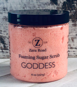 Goddess Foaming Sugar Scrub