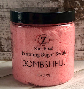 Bombshell Foaming Sugar Scrub