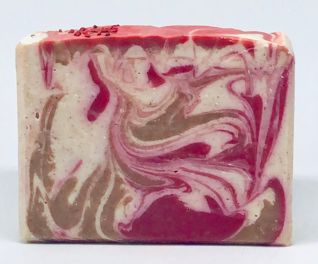 Cranberry & Red Sand Artisan Soap