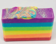 Load image into Gallery viewer, Rainbow Handmade Artisan Soap
