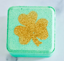 Load image into Gallery viewer, Lucky Shamrock Bath Bomb