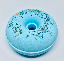 Load image into Gallery viewer, Wild Blueberry Donut Bath Bomb