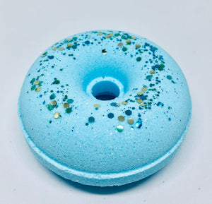 Wild Blueberry Donut Bath Bomb