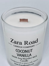 Load image into Gallery viewer, Virgin Coconut & Soy Wooden Wick Candle
