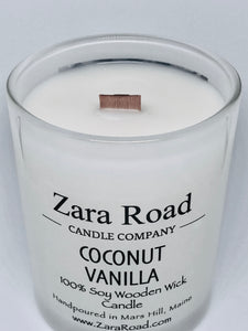 Virgin Coconut & Soy Wooden Wick Candle