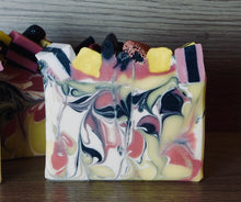 Load image into Gallery viewer, Black Licorice Allsorts Artisan Soap
