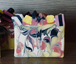 Black Licorice Allsorts Artisan Soap