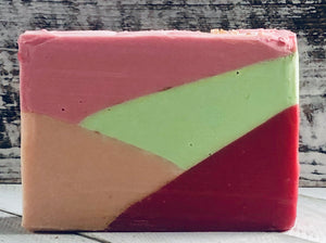 Strawberries & Champagne Handcrafted Artisan Soap