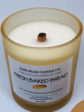 Load image into Gallery viewer, Fresh Baked Bread Spiral Wooden Wick Coconut Wax Candle
