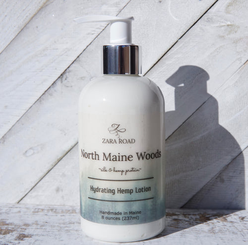 North Maine Woods Hydrating Hemp Lotion
