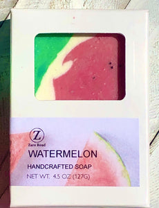 Watermelon Handcrafted Artisan Soap