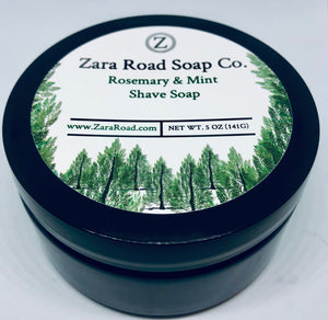 Rosemary & Mint Shave Soap