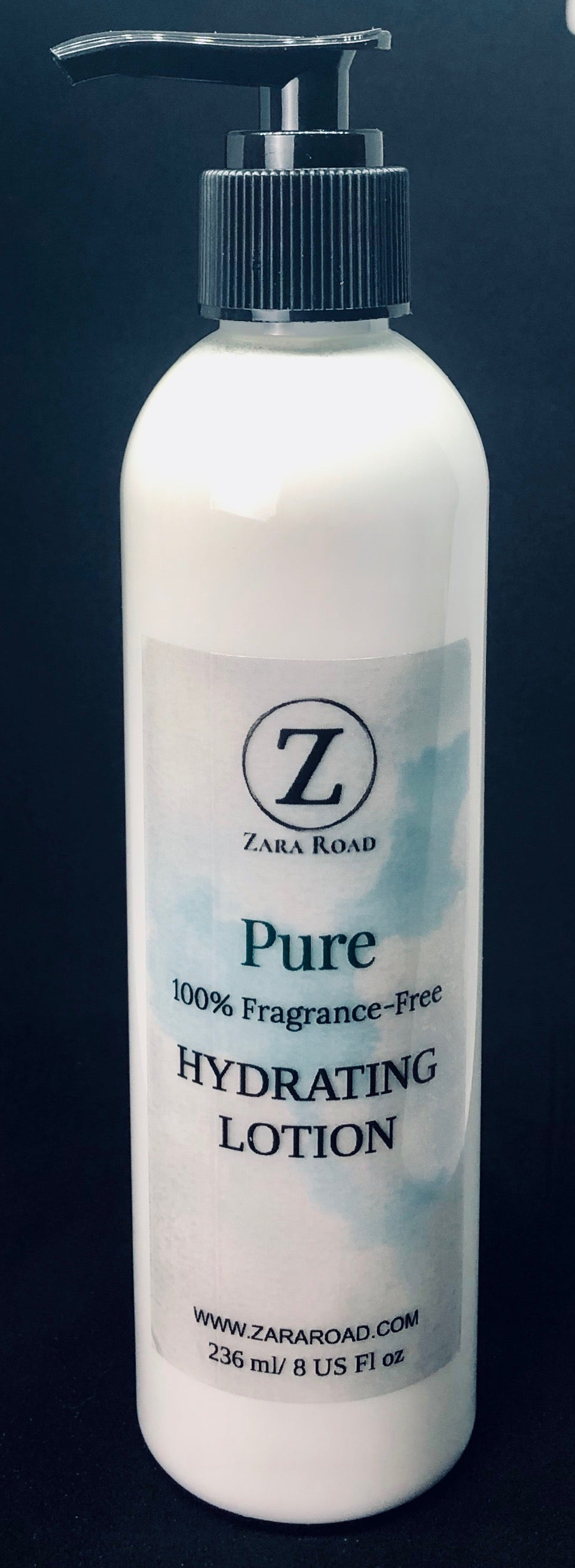 Pure 100% Fragrance-Free Hydrating Lotion