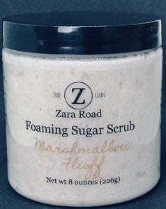 Marshmallow Fluff Foaming Sugar Scrub