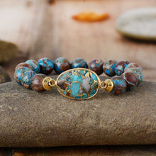 Load image into Gallery viewer, Tibetan Jasper Beads Bracelet