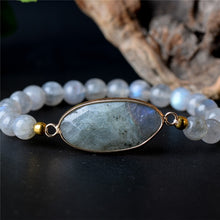 Load image into Gallery viewer, Healing Labradorite Protection Bracelet