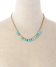 Load image into Gallery viewer, Amazonite Seed Beads Necklace