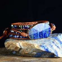 Load image into Gallery viewer, Inspiring Lapis Lazuli Bead Bracelet