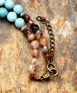 Mixed Natural Stones Handmade Necklace