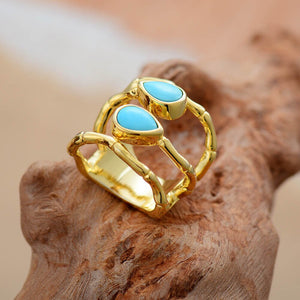 Turquoises Cocktail Ring