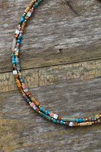 Load image into Gallery viewer, Natural Stone Seed Beads Mix Necklace