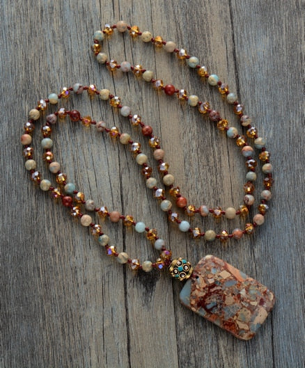 Healing Agate Handmade Necklace