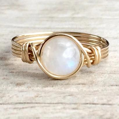 Magnificent Natural Moonstone Ring