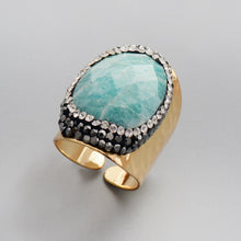 Load image into Gallery viewer, Calming Amazonite Ring