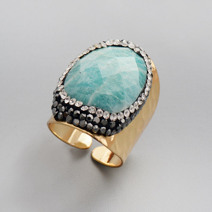 Calming Amazonite Ring