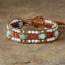 Load image into Gallery viewer, Harmony Gemstone Mix Handmade Bracelet