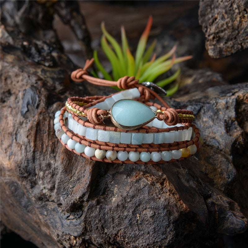 Eye of The Amazonite Bracelet