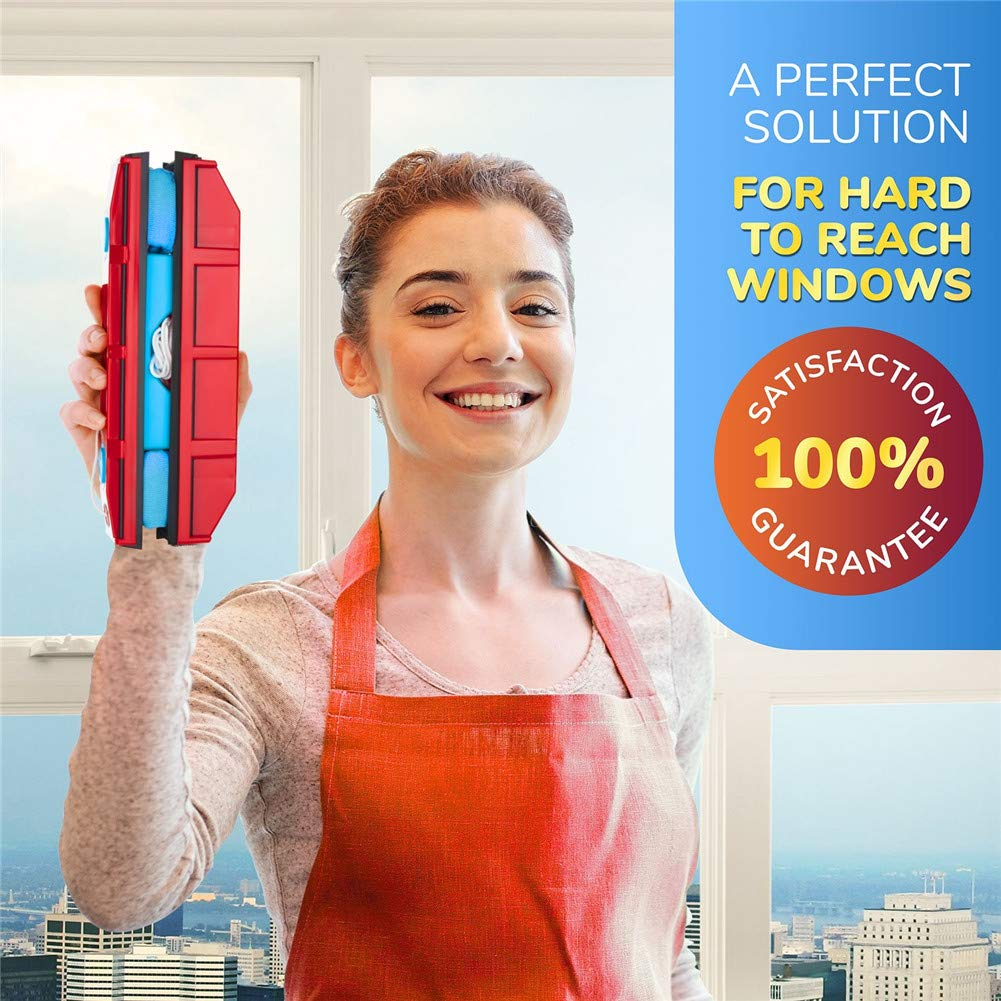 Double-Sided Window Cleaner Glass Wiper (Free Shipping)
