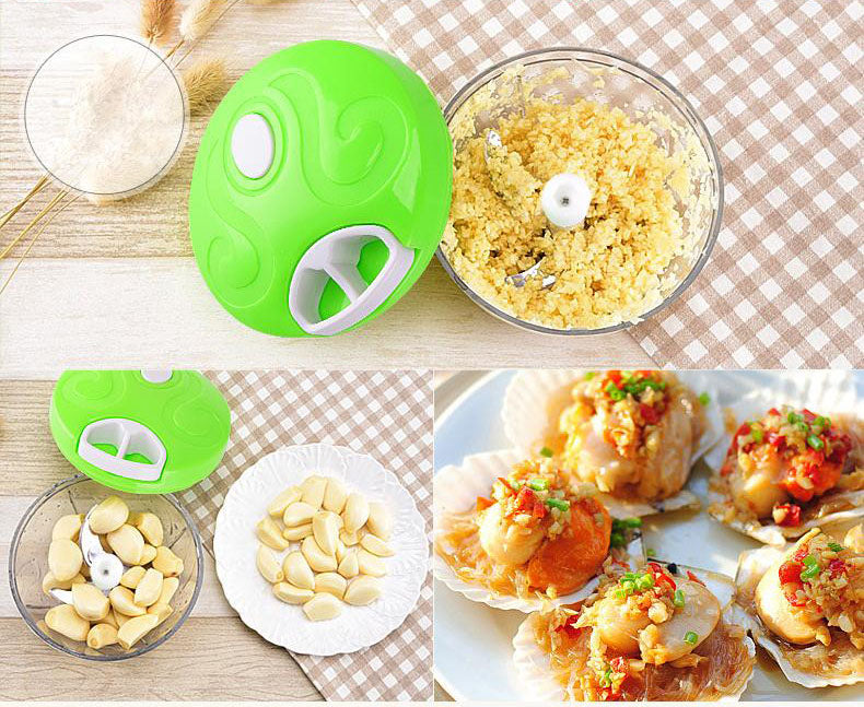 Multi-function vegetable, fruit and meat chopper