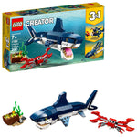 LEGO Creator 3in1 Deep Sea Creatures 31088 Building Kit