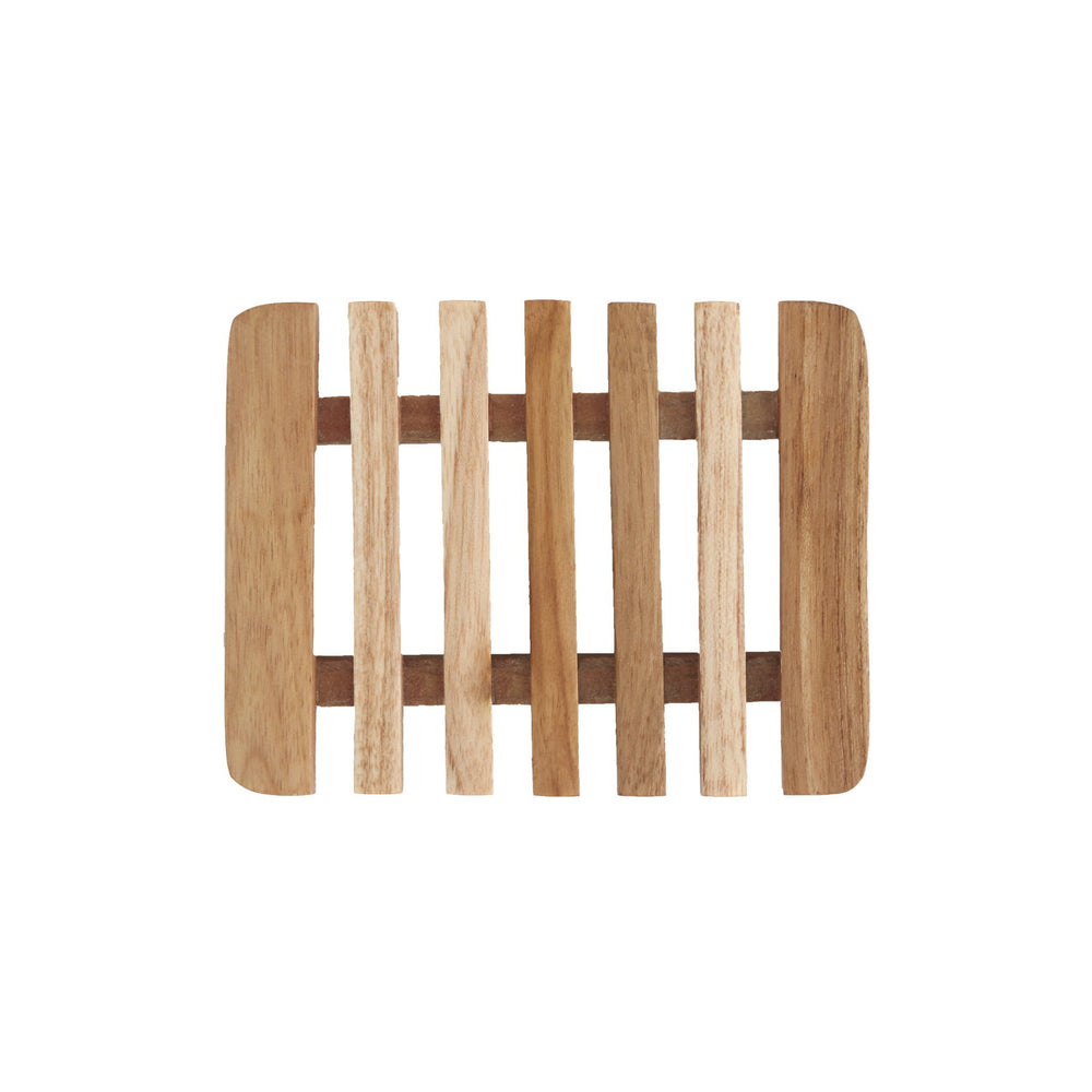 Teak wood soap dish - pureosophy