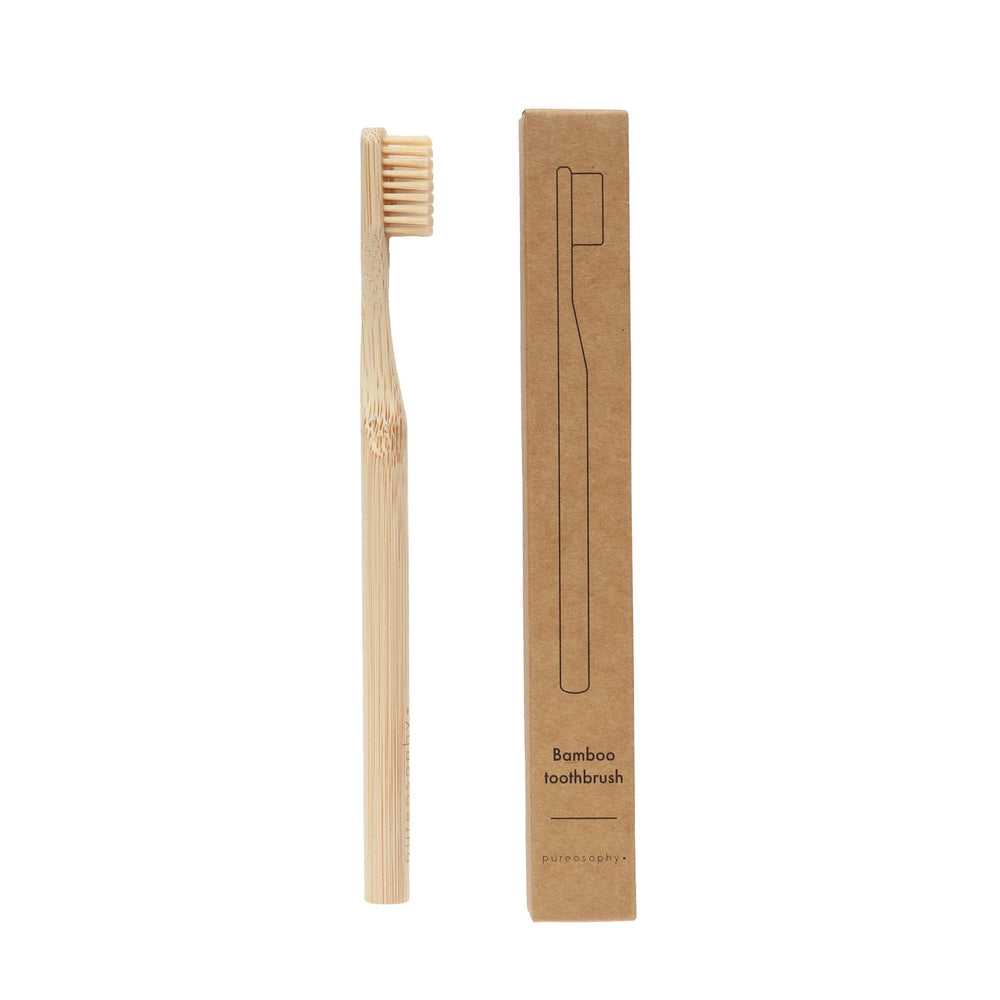 Bamboo toothbrush // adult - pureosophy
