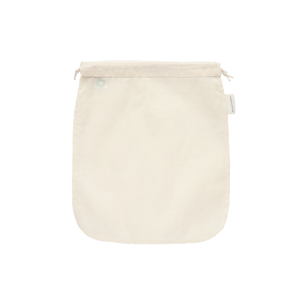 Organic cotton nut milk bag - pureosophy