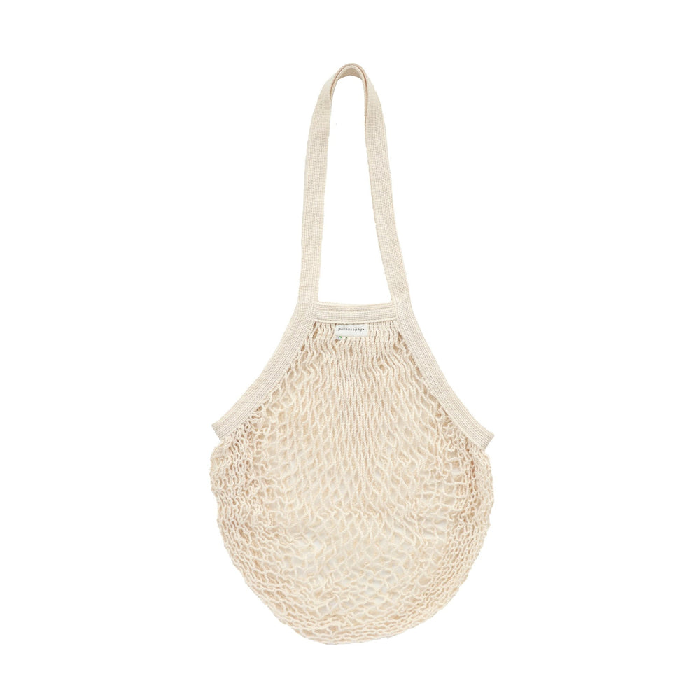 Organic cotton net bag // natural