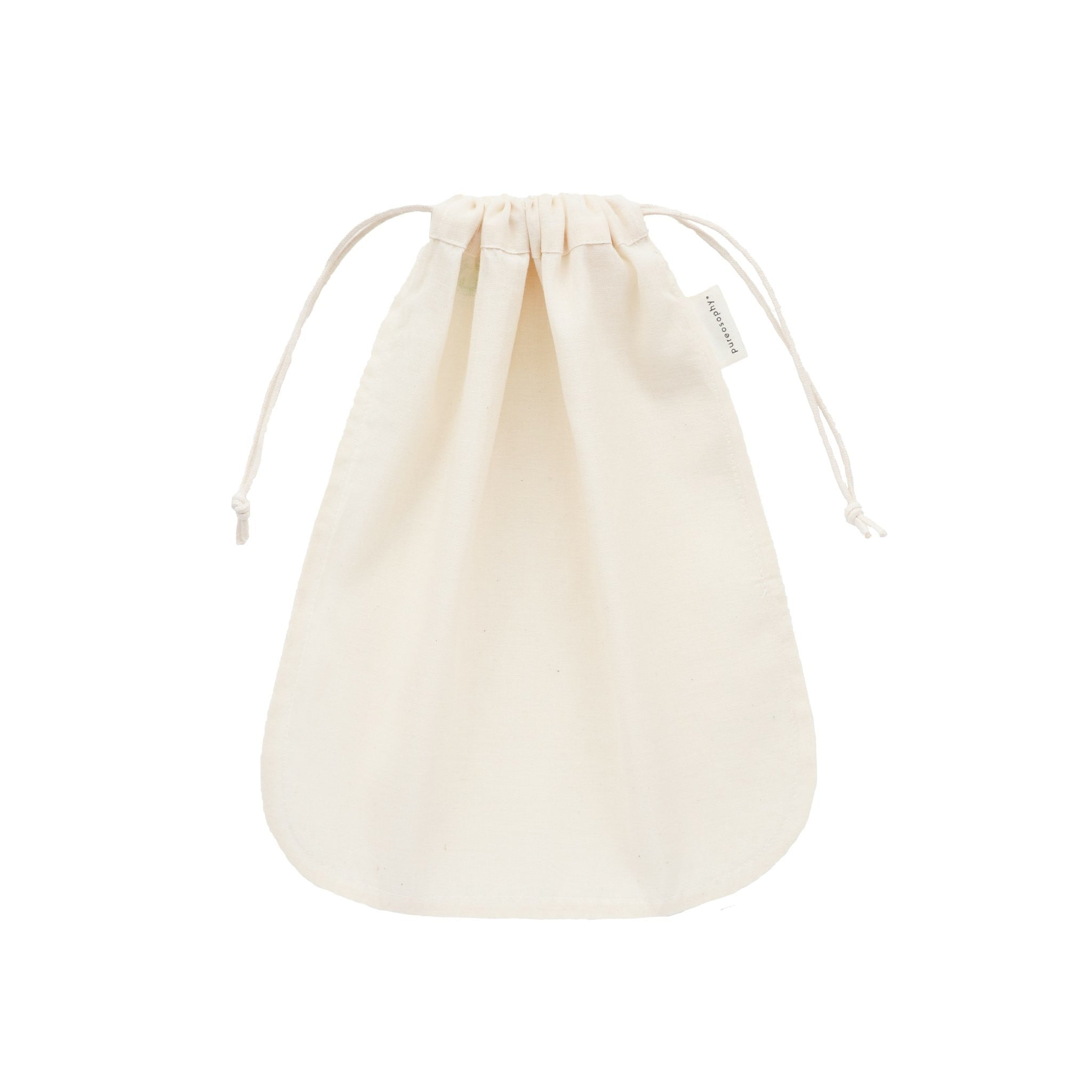 Reusable organic cotton nutmilk bag