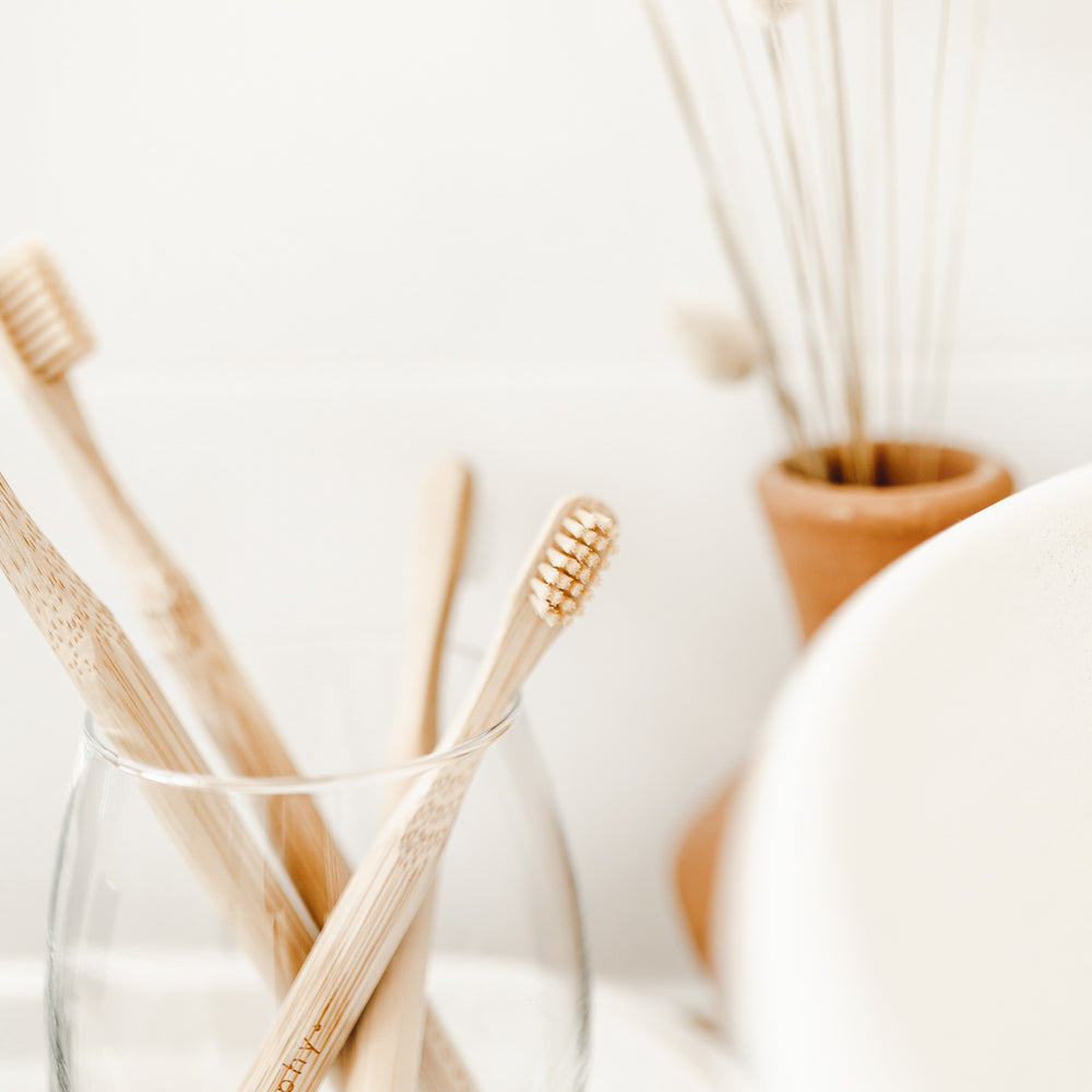 Bamboo toothbrush // kids