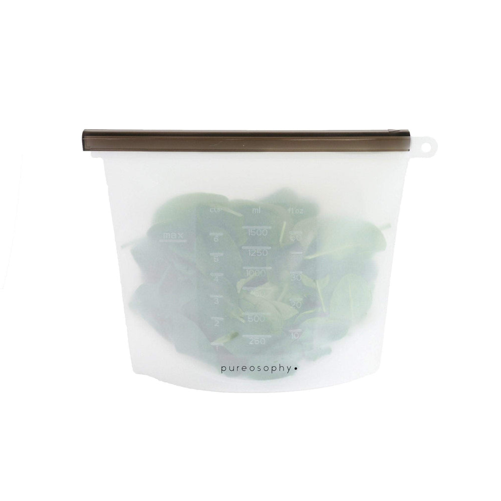 Silicone food bag // 1500 ml - pureosophy