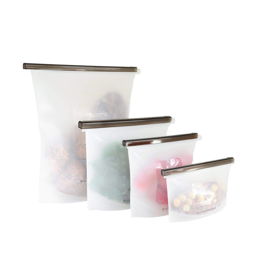 Silicone food bag // 1000 ml - pureosophy