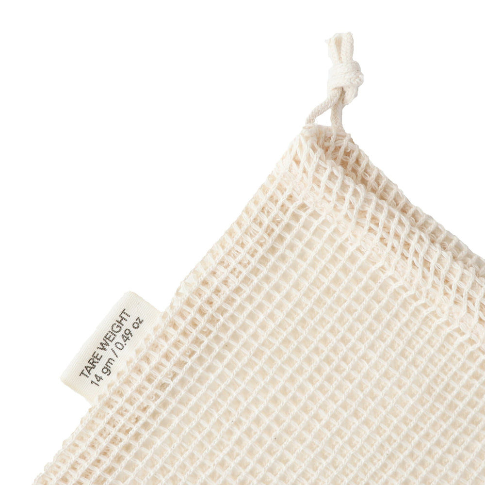 Organic cotton mesh produce bag // small - pureosophy