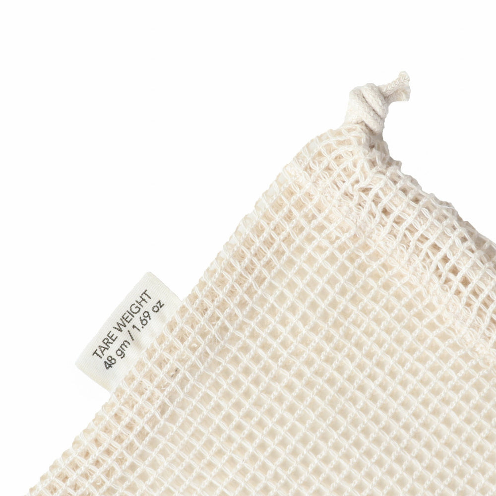 Organic cotton mesh produce bag // large - pureosophy