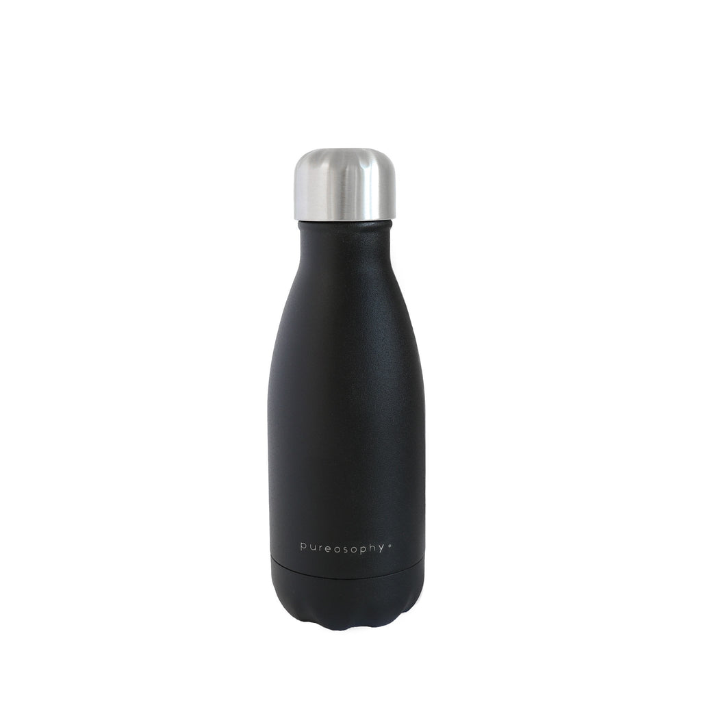 Vacuum insulated stainless steel bottle in 260 ml for kids and children