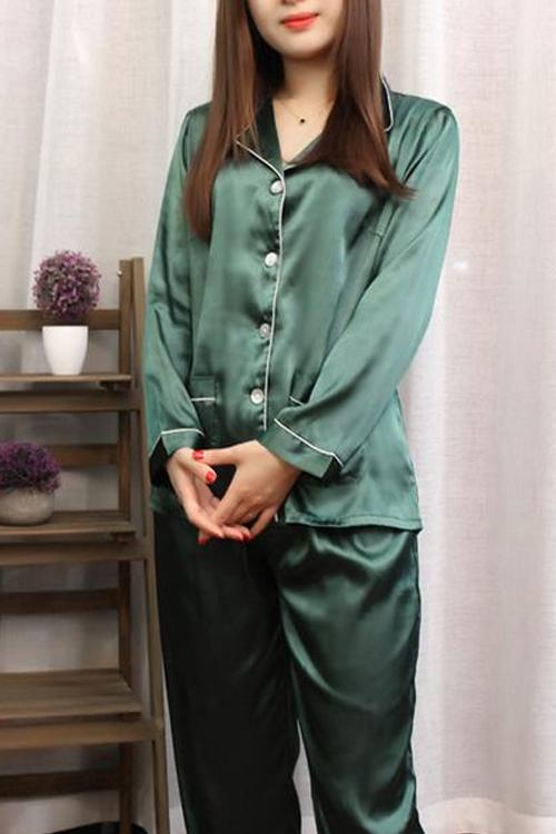 Catalina Satin Pajama Set