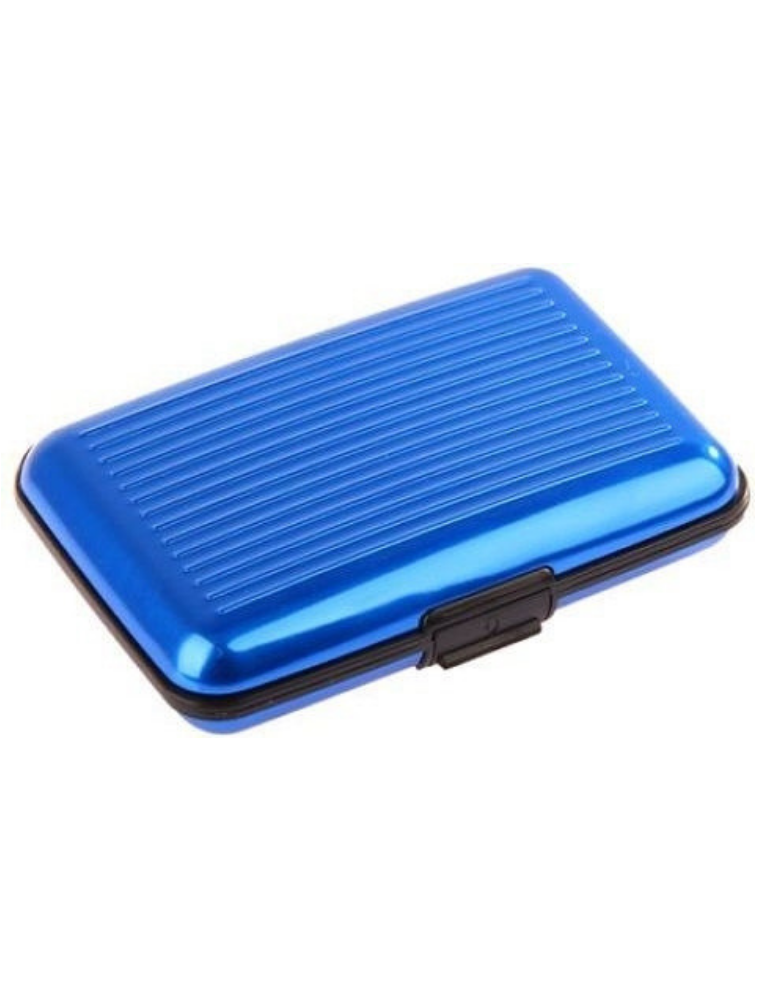 Credit Card Wallet Holder For Unisex - Blue