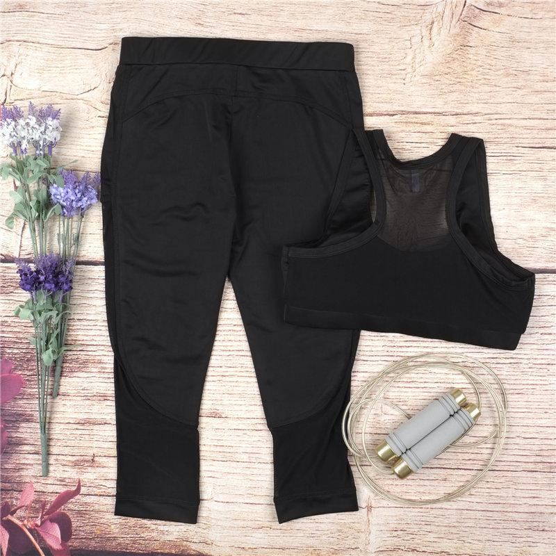 Hatha Mesh Tops & Leggings Set - MondayBloom.com