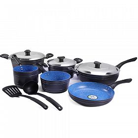 11 Pcs Non-stick Ceramic Cookware Set