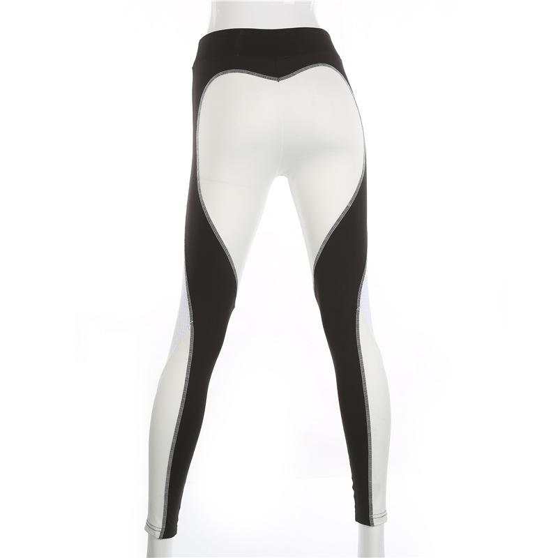 White Love-Spot Leggings - MondayBloom.com